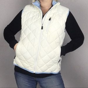 Lands' End Primaloft Insulated Quilted Vest